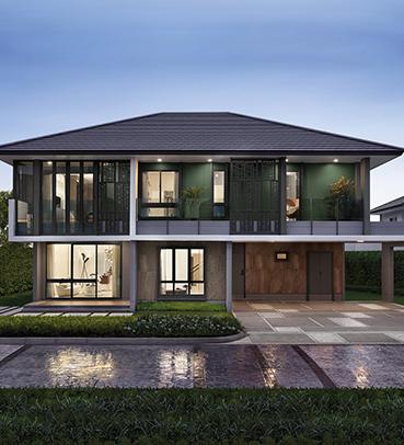 แบบบ้านสวย แบบบ้านสไตล์โมเดิร์น Rothschild Slippers แบบบ้านครอบครัวใหญ่ แบบบ้านเพื่อผู้สูงอายุ