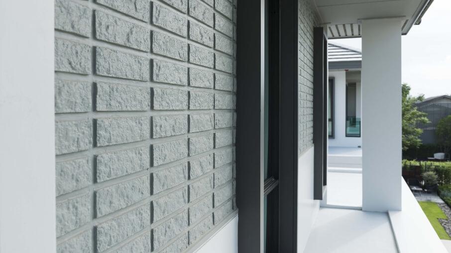 นวัตกรรมบ้านเย็น : Texture Wall