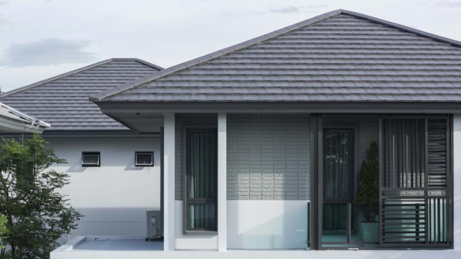 นวัตกรรมบ้านเย็น : Roof Shade