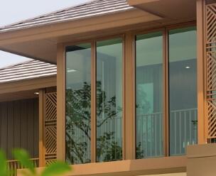 นวัตกรรมบ้านเย็น : Green Glass