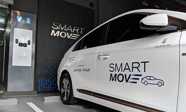 แพลตฟอร์มใหม่เพื่อความสะดวกสบายของลูกบ้านแสนสิริ - Smart Move